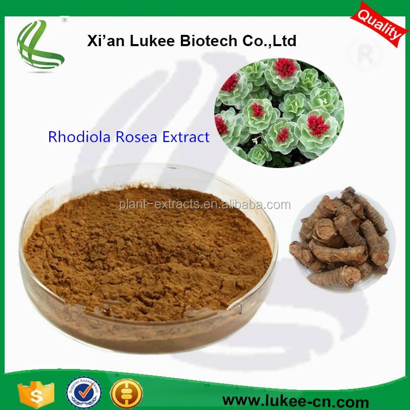 High quality rhodiola rose extract/rhodiola rosea powder extract/rhodiola rosea extract