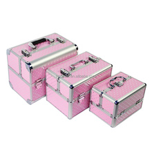 Professional Cosmetic Case Women Wedding Gift Box Beauty Makeup Travel Train Cases Luxury Make Up Jewelry Bag Storage Case