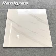24x24 building materials low price 3d INK-JET shining vitrified carrara porcelain floor tiles made in China