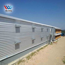 WZH cheap modern perfab log house for poultry farming