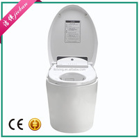 Factory direct one piece toilet hot sale european water closet size