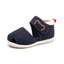 Knitted fabric hot sale baby sandal for boy
