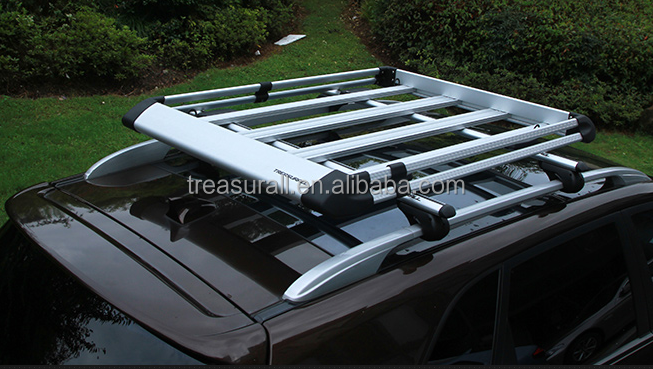 treasurall aluminum car roof tray top lugguage carrier