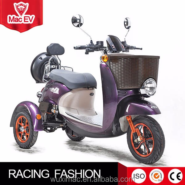 factory wholesale tricycle adult electric mobility scooter made in china for sale