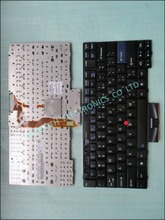 100% original laptop keyboard for lenovo t410 t410i t410s t510 45n2141 us layout