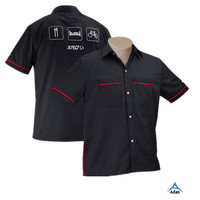 custom design dye sublimation racing motorcycle polo shirt