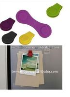 Silicone magnet clips /strong magnets /super magnet clip