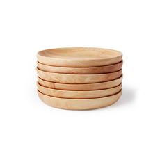 Wholesale Factory Round Wooden Serving Dishes Bamboo <strong>Plate</strong>