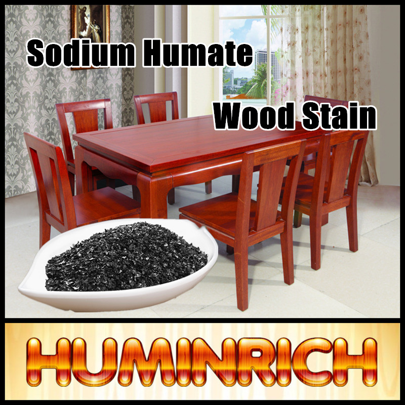Huminrich Shenyang Water Soluble Flake Sodium Humate Paint Wood Colour