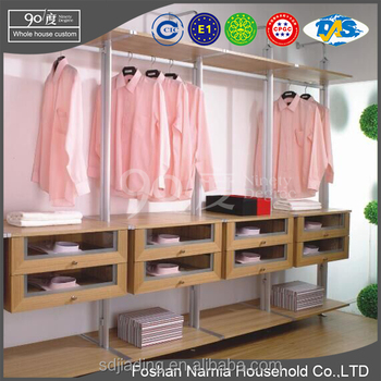 Wholesale Modern Modular Bedroom Furniture Wall Mounted Wardrobe
