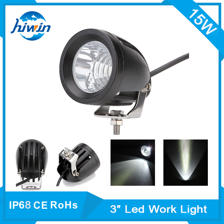 hiwin 51w led work light with magnetic base 12v 24v off road led work lamp automobile, truck, bus led working lamp YP-6015