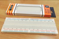 High Quality MB-102 Universal Solderless Breadboard 830 Points 165x55x10mm Size