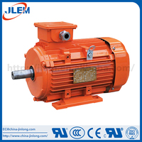 Super efficiency aluminum three phase ac synchronous motor