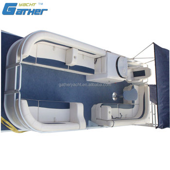 Gather 2017 Fashion Alibaba Suppliers Excellent Material Pontoon Boat Yacht