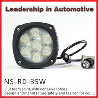 9-32v 4x4 Off Road 35w Super Bright Led Worklight For Atv Tractor Truck Ip67 Heavy Duty Truck Work Light Led Lamp