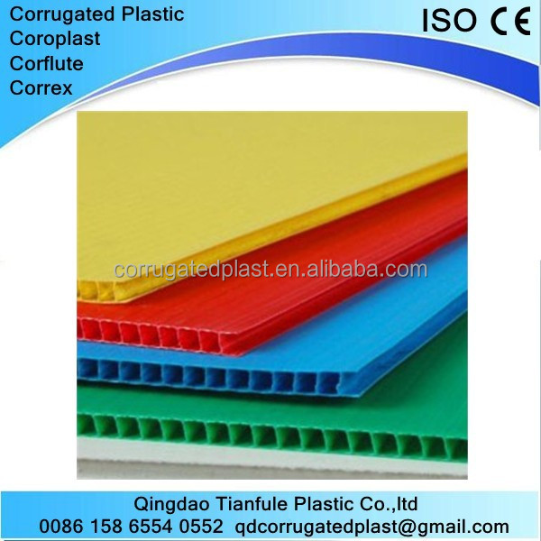4X8 Corrugated Plastic Temporary Protection Sheet