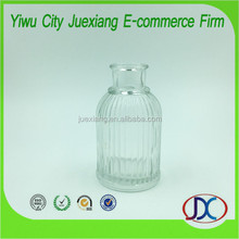 80ml Wholesale empty clear reed diffuser perfume glass bottle