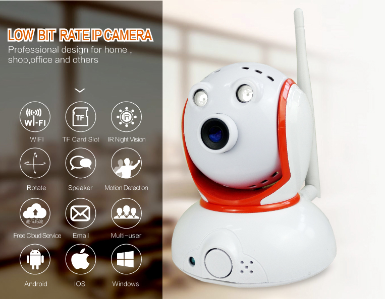 2015 super mini PTZ IP camera wireless android IP baby monitor camera