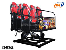 Mini 5d cinema equipment /The most hot sale Canton Fair/ mini 5d cinema 2 seaters, lover seats electric system with best price