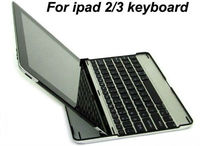 ALUMINIUM KEYBOARD METAL BLUETOOTH CASE COVER STAND FITS FOR NEW iPAD 3 & iPAD 2