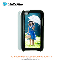 2D Plastic Sublimation Blank Phone Case for iPod touch4