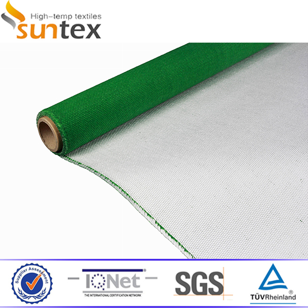Pu Coated Fiberglass Thermal Acoustic Insulation Material