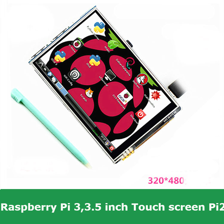 Raspberry Pi 3 3.5 inch lcd resistive touch screen display 480*320