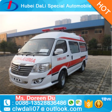 Factory Directly Supply Euro IV Emission 4x2 RHD Ambulance for sale