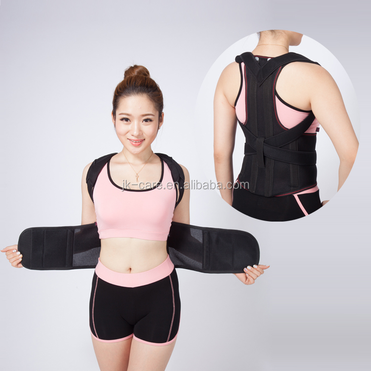 Back and shoulder posture corrective brace / Back posture support posture corrector