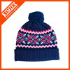 2016 new designed wholesale hot sell knit beanie hats and caps with custom label