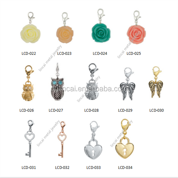 trendy dangle charms wholesale
