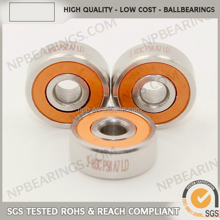 Hign performance running precision small iron ball bearing
