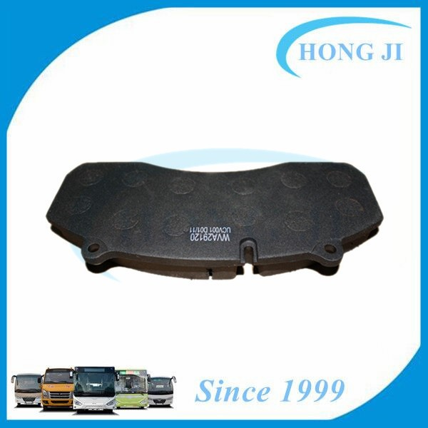Top Quality Disc Brake Pad WVA29120 for Bus Higer Golden Dragon Daewoo