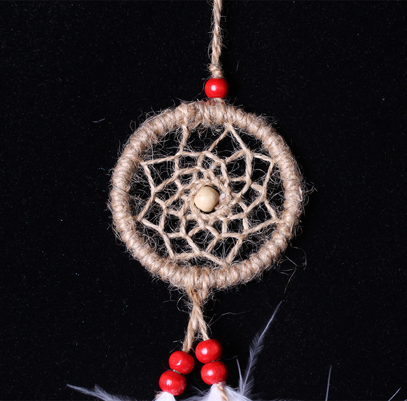 natual color car decoration dream catcher MS8015