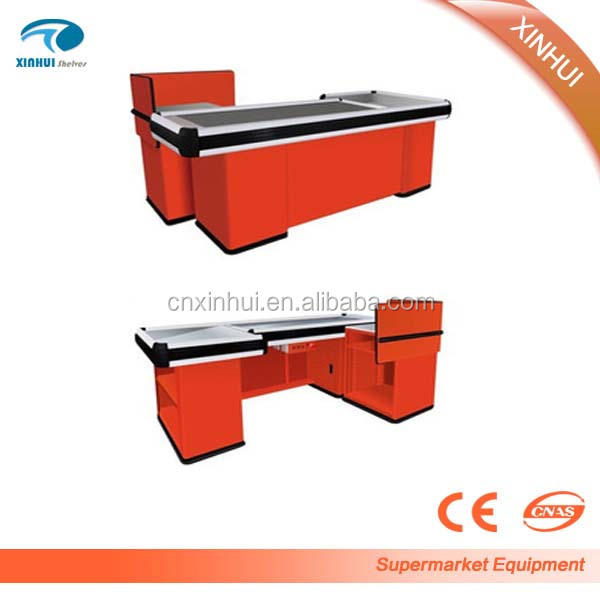 Shop cash counter design for supermarket, Retail Store cash counter