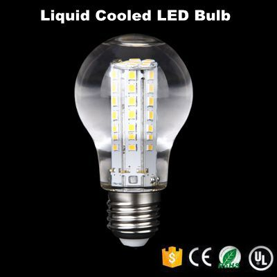 e27 630lm lumen led bulb light wet and dry bulb liquid cooled led bulb
