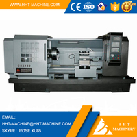 CK-6180 High quality low price heavy duty headman china cnc lathe machine with tailstock