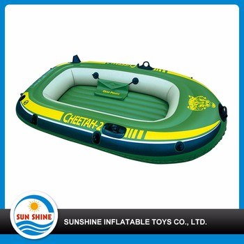 best sellings 1.2mm pvc China two person inflatable boat