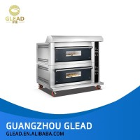 Commercial automatic bakery gas bread oven