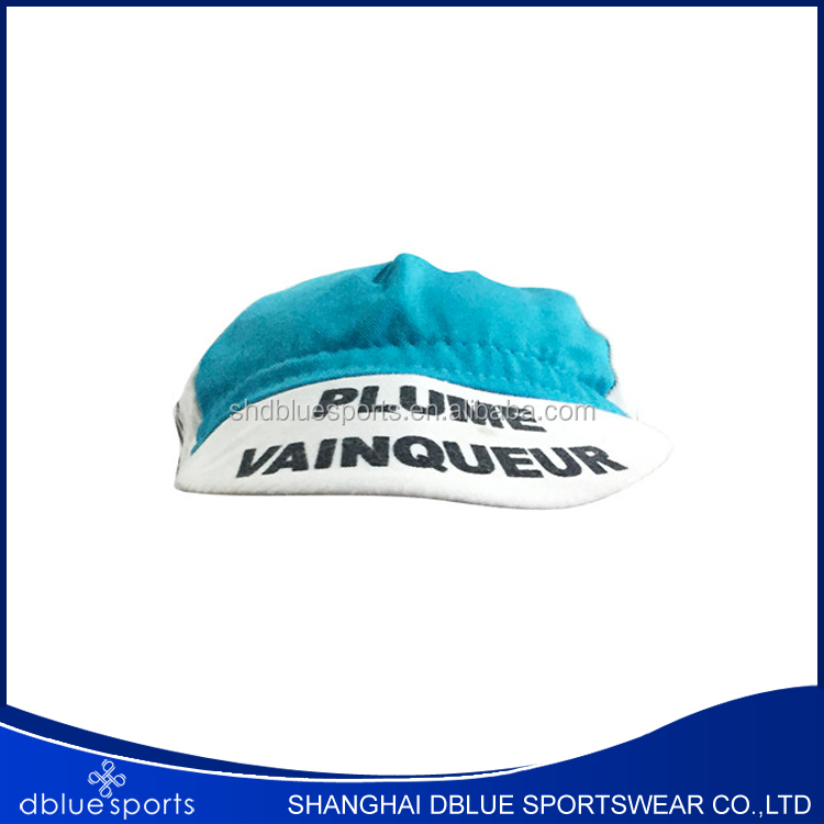 2016 Good quality , Manufacturer , Custom Outdoor Riding Cycling Bike Cap Hat With Printing