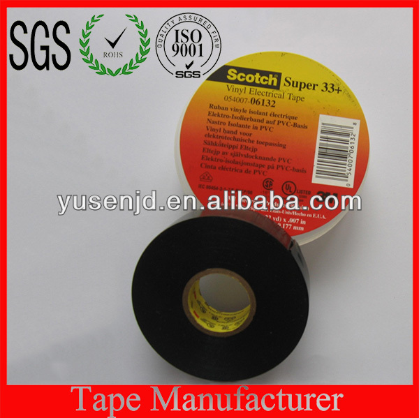 3M33+ PVC Electrical Insulation Adhesive Tape
