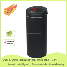 sensor bin 50L round shape sensor buckets with bag automatic trash cans for export