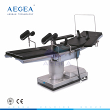 AG-OT007 China reclining surgery operation theatre bed paitent emergency rescue radiolucent lab urology electric operating table