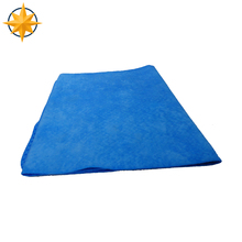 Custom making synthetic chamois car cleaning cloth