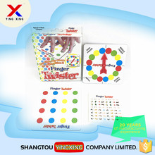 cheap price educational toy english finger twister game
