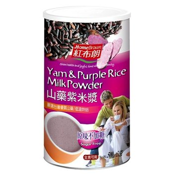 Home-Brown Yam & Purple Rice Milk Powder
