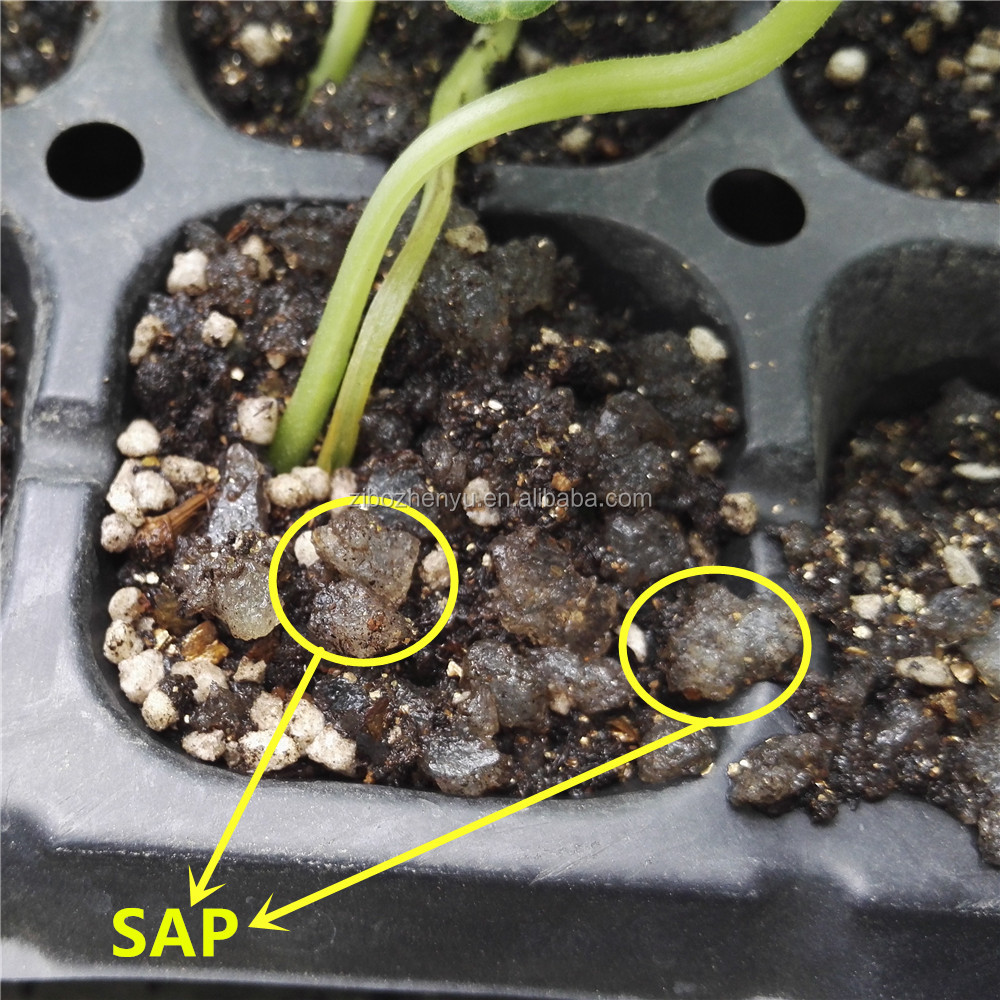 To Lock Water In Soil For Root Potassium Polyacrylate Granulars