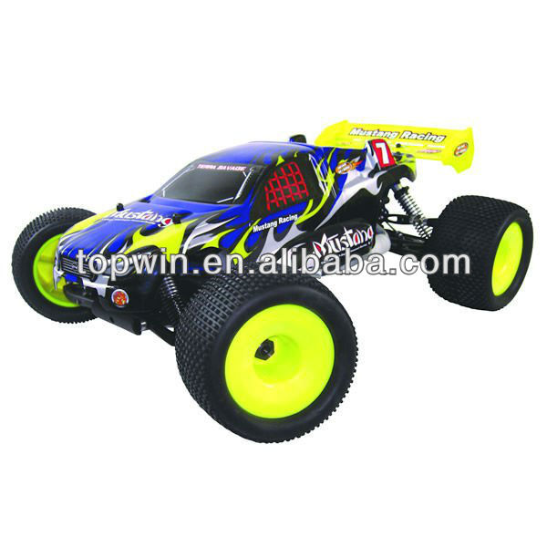 RC Hobby 1/8th Scale 4WD Gas Powered High Speed RC Model off road Truggy