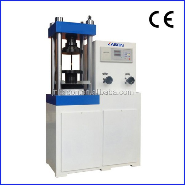 YES-1000 Price Digital Display Concrete Cube Compression Testing Machine / digital display pressure tester