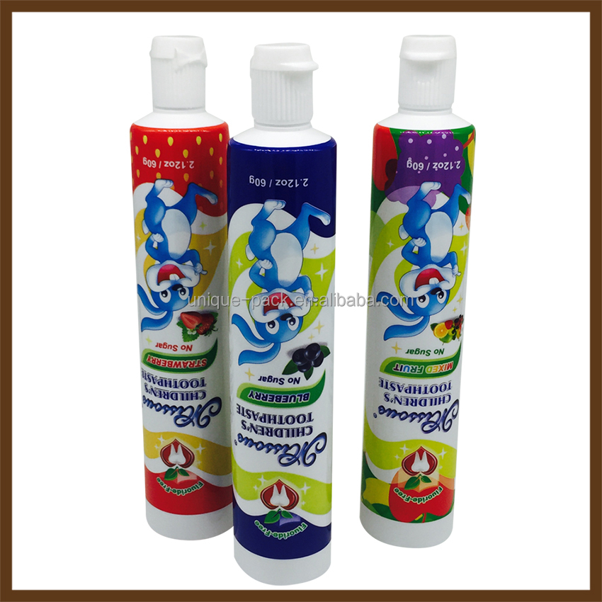 ABL Toothpaste tubes packaging